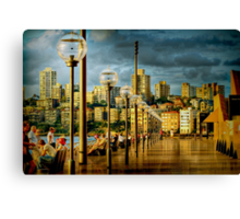 Ambient evening Canvas Print