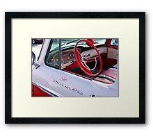 Bob's Custom Cab Framed Print