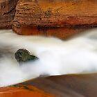 Slide Rock Panorama-3 by Zane Paxton