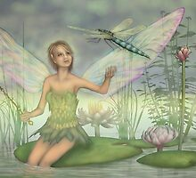 Faery Pond by Karen  Hull
