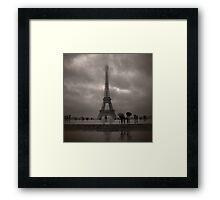 Damien's Paris Holiday Framed Print
