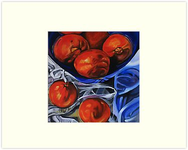 Orange Bowl by Susan van Zyl