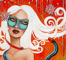 """Strange Beauty"" by Tammy Mae Moon by MoonSpiral"