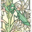 Praying Mantis by Kiri Moth