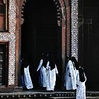 Nuns in Agra by pahit