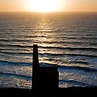 Cornish Days End by Photoplex