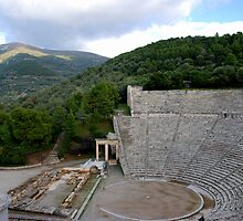Epidaurus Ancient Theater,Greece by DimitriS-Gr