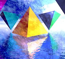 Triangles by Carol and Mike Werner