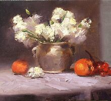 White carnations by james otto
