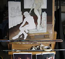 (unfinished) Pygmalion and Galatea by Ken Tregoning by Ken Tregoning