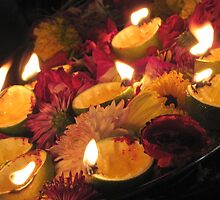 Festival of lights - Deepavali, Singapore by Nupur Nag