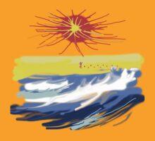 BEACH T SHIRT by Shoshonan