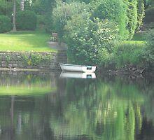 Boat reflection  by Joshua  Kremer