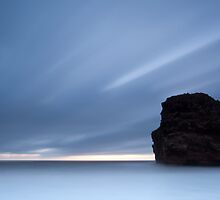 Marsden Rock, Dawn by Carl Mickleburgh