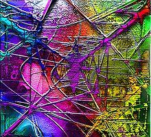 Electric Pylon - a metallic, geometrical world by Petra Höpfner
