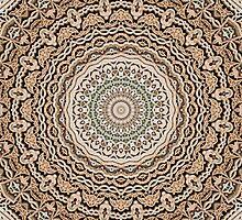 Stone fretwork abstract 4 by rhallam