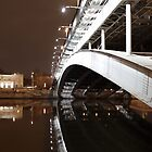 Bridge over the Moscow River by offwhitedog