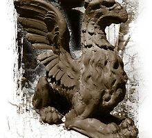 Gargoyle, Old Annapolis Post Office Maryland by shelley noeldechen