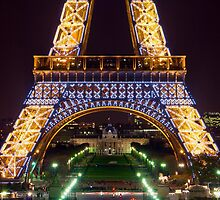 Eiffel Militaire by Philip Cozzolino