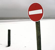 No entry red by RoseMae