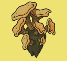Chanterelles by Kristel Mallet
