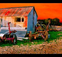 Sunset at Paddy Slattery's Shed by John Walsh, IRELAND