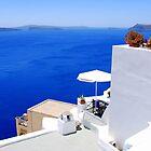 Relaxing at Santorini by DimitriS-Gr