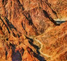 Grand Canyon - A look into the Abyss by Mike  Savad