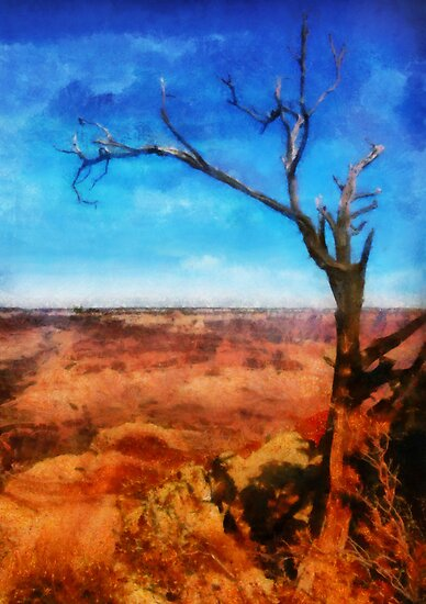 Grand Canyon - My leaves are long gone by Mike  Savad