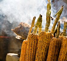 roasted corn by Dinni H