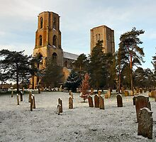 Dusting of snow at Wymondham Abbey by Shaun Whiteman