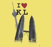 I Love KL Tower & KLCC by j0sh