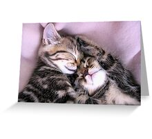 In the land of nod Greeting Card