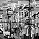 San Francisco street by Tom  Marriott