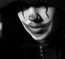 punk clown by juliweeeeee