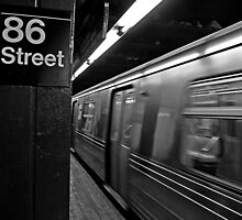 86th Street Station by Stephen Burke