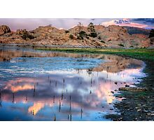 Cloudy Mirror Photographic Print