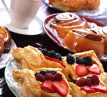 Pastries and Coffee by Karin  Hildebrand Lau