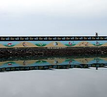 Ogden Point Seawall by George Cousins