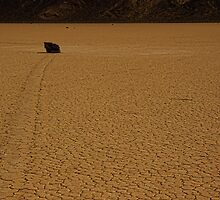 The Racetrack Playa by Justin Baer