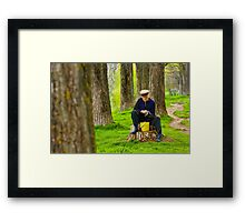 OnePhotoPerDay Series: 106 by L. Framed Print