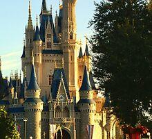 golden castle by LeeDukes
