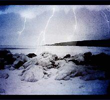beach lights by vampvamp