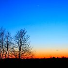 Dusk in Marinette County by Chuck Zacharias