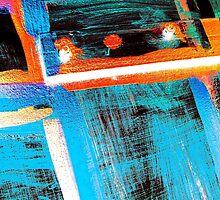 Neon Door by David Schroeder
