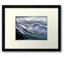 Rocky Mountain Peaks Framed Print