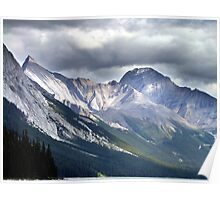 Rocky Mountain Peaks Poster