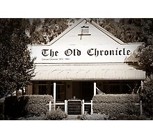 The Old Chronicle Photographic Print