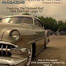 """The Automotive Gauntlet  Magazine"" Cover page Volume II Issue 1  by TeeMack"
