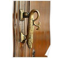Fish Doorknocker - Malaga Poster